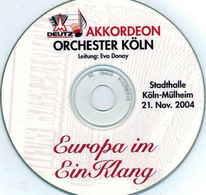 Jahreskonzert 2004 – Europa im EinKlang