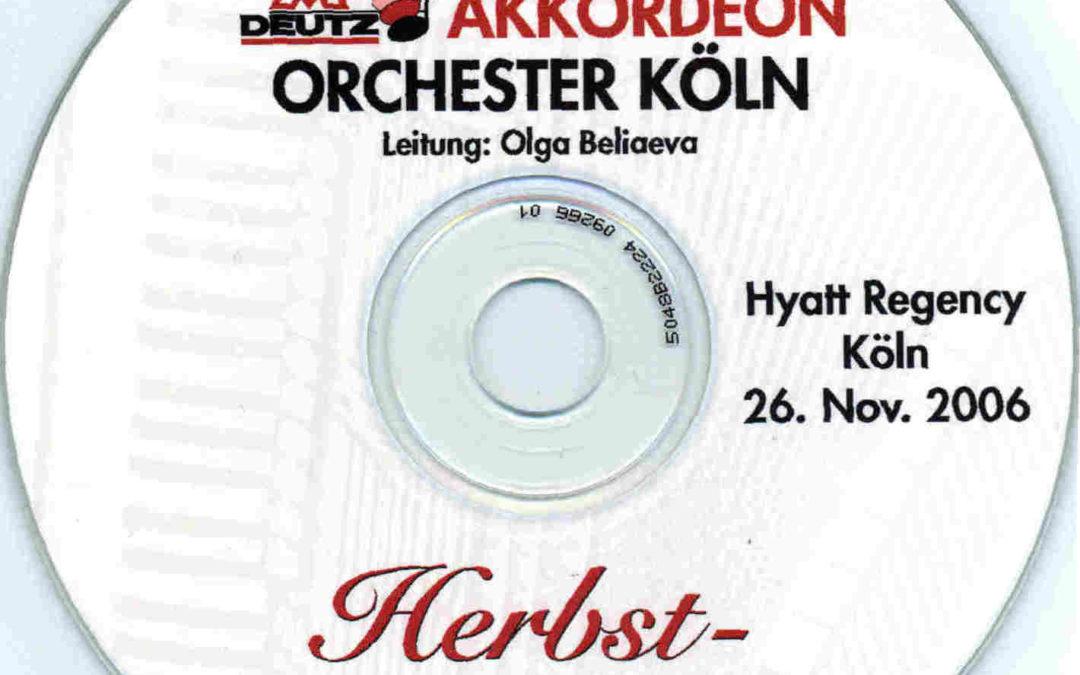 Jahreskonzert 2006 – Herbstkonzert