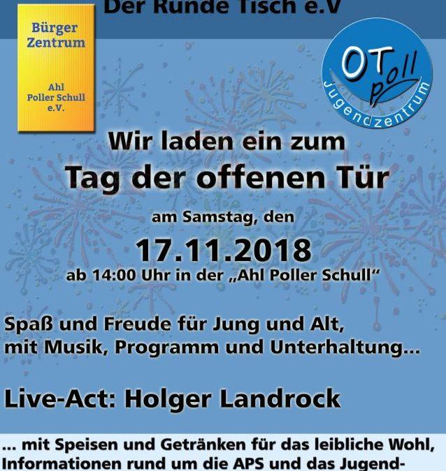 """17.11.2018 Bürgerzentrum """"Ahl Poller Schull"""""""