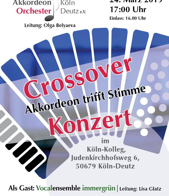 24.03.2019 Crossover Konzert Köln Kolleg